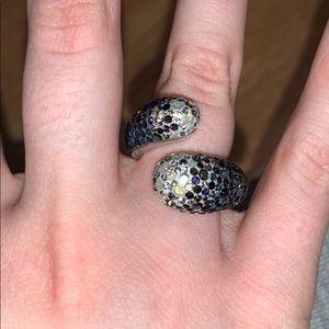 Swarovski Crystal Wrap Ring